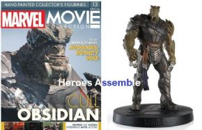 Marvel Movie Collection Special #13 Cull Obsidian Figurine Eaglemoss Publications